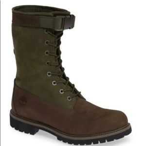 Timberland Mens All Leather Gaiter Boot